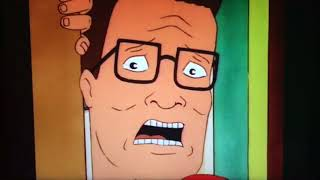 Hank Hill sees his mom having sex and goes blind