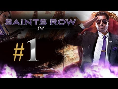 Saints Row 4 Gameplay Walkthrough Part 1 – The Saints Wing