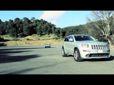 Jeep SRT8 VS BMW X6 50