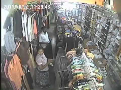 Hide Camera Shoot Theft-unbelievable Thief In Girl video