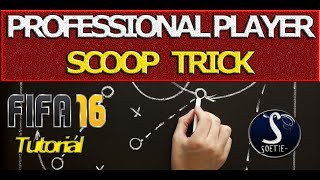 FIFA 16 TUTORIAL - PROFESSIONAL PLAYER SCOOP TURN TRICK / NO MORE FAKESHOTS!