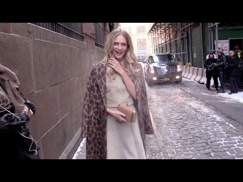 Poppy Delevingne and more at Michael Kors fashion show New York City