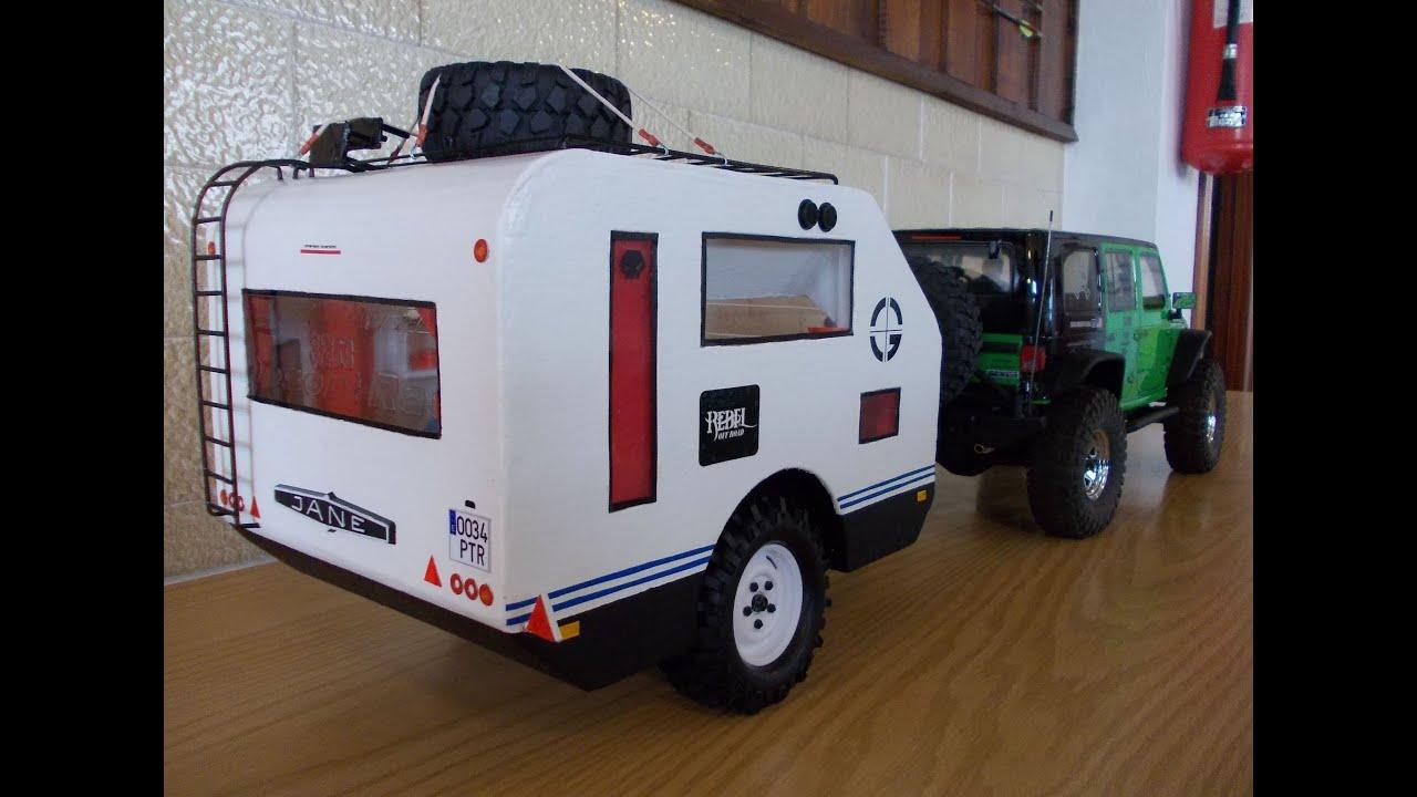 Caravana Axial Scx10 Jeep Wrangler Rubicon Caravan