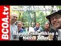 Camping at Dr. Edmund A. Babler Memorial State Park with Native Tearz and Happy Trails Hiking