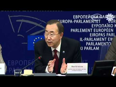 Ban Ki-Moon on Tax coordination and China.
