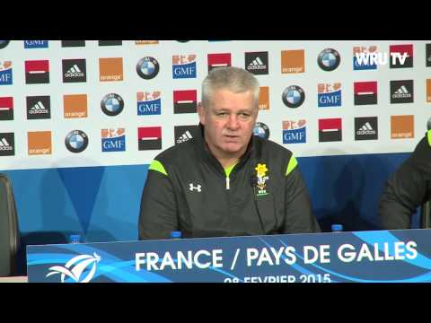 Post match press conference - France | 2015 RBS 6 Nations | WRU TV