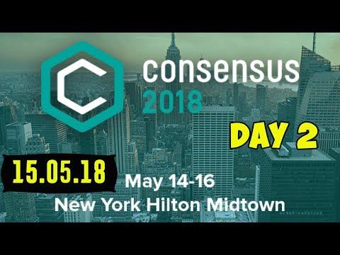 Consensus 2018!   Crypto Conference Day 2 - Recap - Сводочка! New York Hilton Midtown