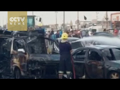 Car bomb explodes outside U.S. consulate in Iraq