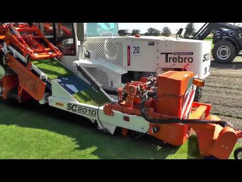 World Modern Artificial Turf Sod Installer Intelligent Technology Progress Mega Machines Tractor