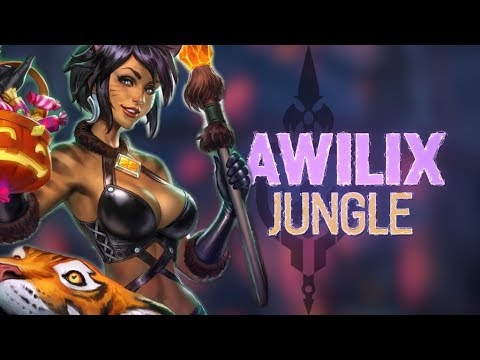 Awilix Ranked Jungle: QUICK CARRY BEST CARRY - Incon - Smite