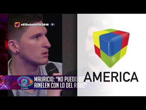 Mauricio y su cruce con Azzaro ante los rumores de su affaire con Ainelén