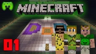 MINECRAFT Adventure-Map # 1 - Domains of Parkour «» Let's Play Minecraft   HD