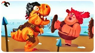 Dino Bash, funny dinosaurs vs caverns, Game for kids,  Top Games Android and IOS