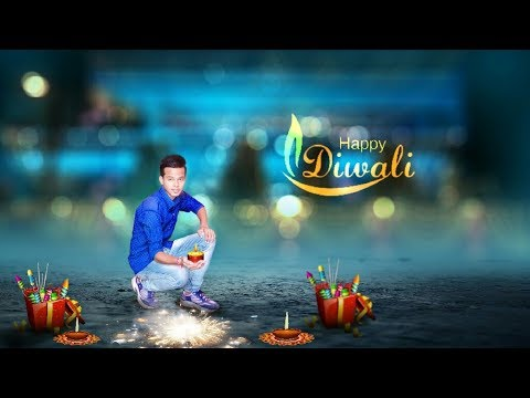 Diwali photo editing tutorial | Deepawali special editing | PicsArt tutorial