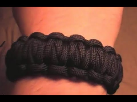 How to make a Millipede Survival Paracord Bracelet (the newest/best paracord bracelet) THE ORIGINAL