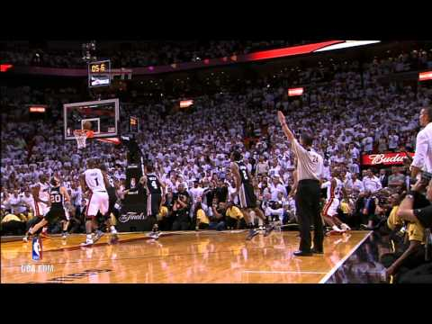NBA Finals Highlights: Spurs at Heat Game 6