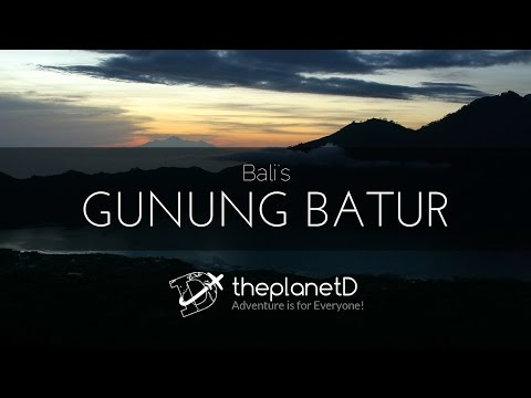 Our visit to Bali where we climbed Gunung Batur, Witnessed a Cremation Ceremony and explored the cou