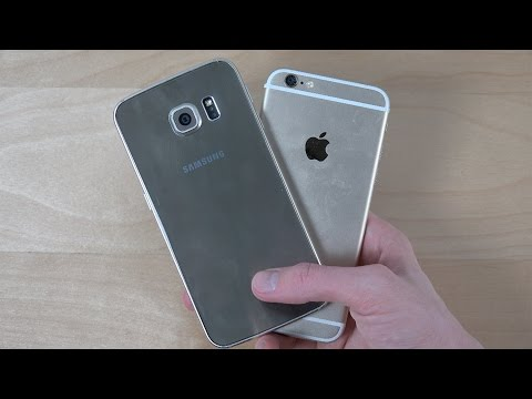 Samsung Galaxy S6 Edge vs. iPhone 6 - Which Is Faster? (4K)