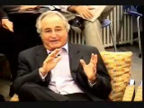 Bernie Madoff on the modern stock market