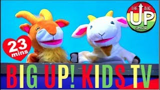 [NEW SONGS!] BIG UP! KIDS TV + More Fun Children's Sing Along Music | Ep.2