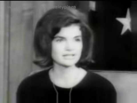 Jacqueline Kennedy thanking the public Jan 8 2009 1212 PM