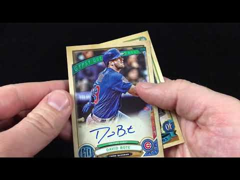 2019 Topps Gypsy Queen Hanger Pack Rip