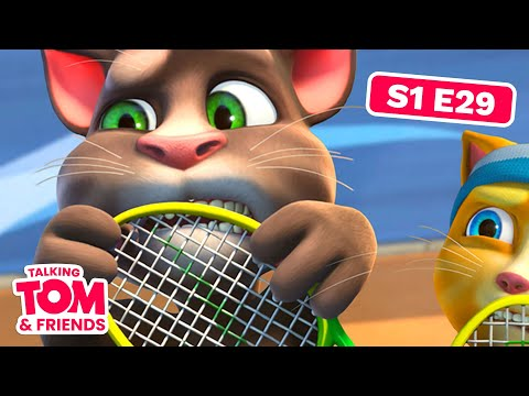 Talking Tom and Friends - Tennis Kid (Season 1 Episode 29)