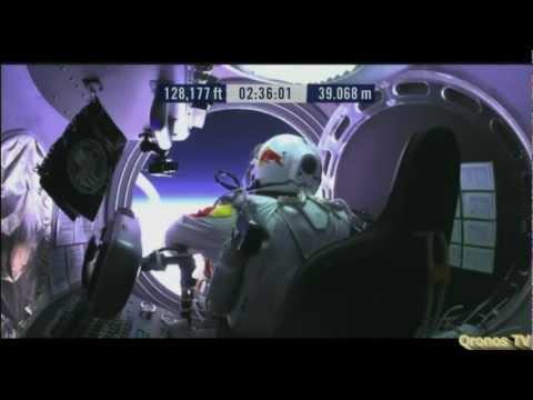 Felix Baumgartner Breaks Skydiving Record Full Video
