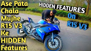 Top Hidden Features Of Yamaha R15 V3 - Psycho Rider PD13