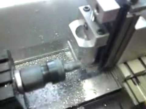 Milling on a Taig lathe.