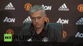 UK: Mourinho gives first press conference as new Man United manager