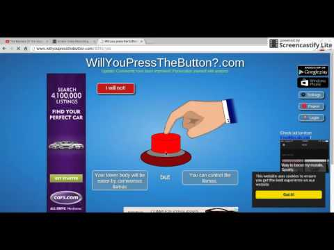 WORLD'S FIRST TRILLIONAIRE!!!! | Will You Press The Button?