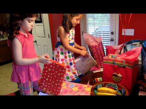 Scarlett Opens Presents for Her 6th Birthday Music Videos