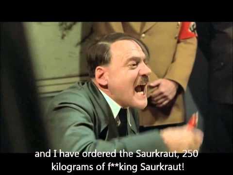 Hitler learns RAF Waddington Airshow 2015 cancelled