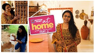 At home with Actress Viji Chandrasekhar Part 2| We witnessed Tsunami while at home | JFW Exclusive