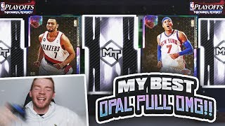 MY BEST GALAXY OPAL PULL!! NEW THROWBACK PLAYOFF MOMENTS PACK OPENING! (NBA 2K19 MYTEAM)