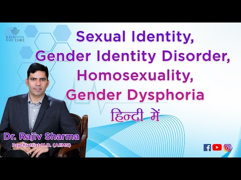 Gender Identity Disorder Vs Homosexuality (gay  Lesbianism) In Hindi (india) video