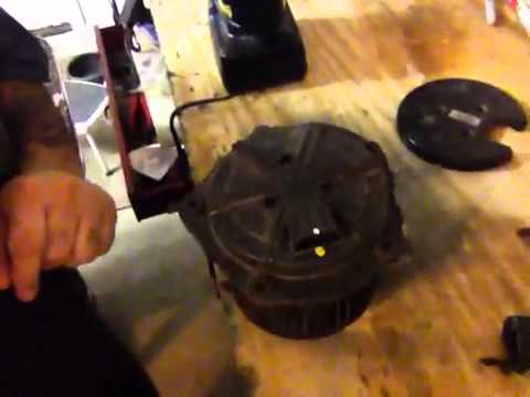 Part 2- Cadillac Blower Motor