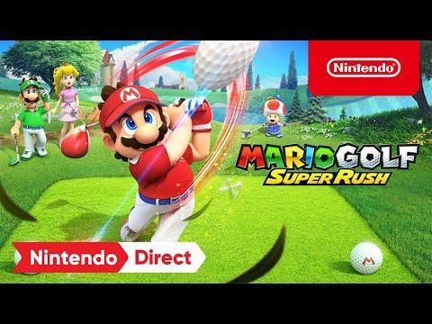 Mario Golf: Super Rush – Announcement Trailer – Nintendo Switch