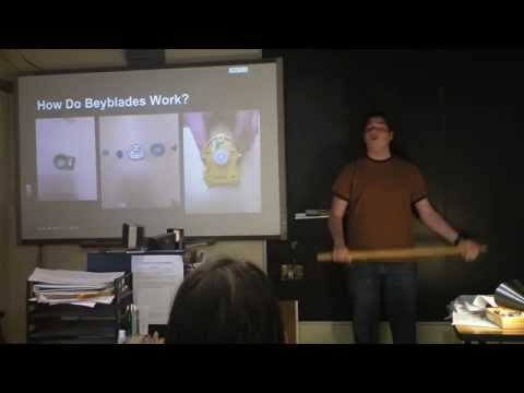 Indie Lab - The Physics Of Beyblades From An Expert (Rotational Inertia Found!)