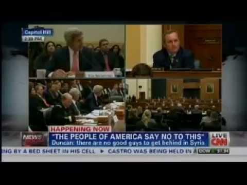 Rep. Duncan and John Kerry Get Into Heated Debate Over Benghazi