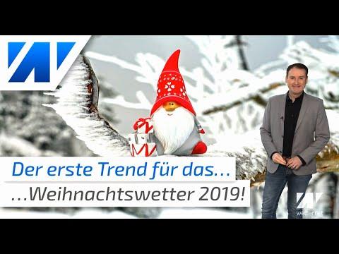 Das Weihnachtswetter 2019 Der erste Wettertrend ist da!