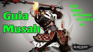 Black Desert SA - Guia Musah   ‹ Tome Shot ›