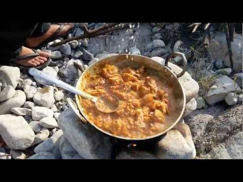 Chicken Curry Indian Style Outdoor Cooking Youtube Food Receipes