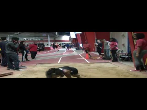 2016 Whitney Young Fast Times Invitational Sydney's Long Jump 2