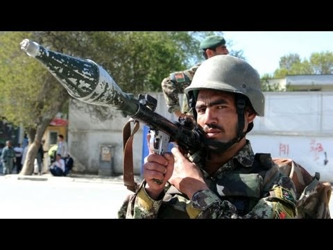 Coordinated suicide attacks rock Afghanistan