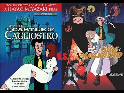 The Castle Of Cagliostro Dub Comparisons