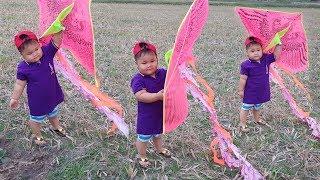 Trò Chơi Bé Đi Thả Diều ❤ ChiChi ToysReview TV ❤ Đồ Chơi Trẻ Em لعب الطفل مع طائرة ورقية