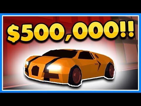BUYING THE NEW $500,000 BUGATTI SUPER CAR   ROBLOX JAILBREAK (Stream Highlight)