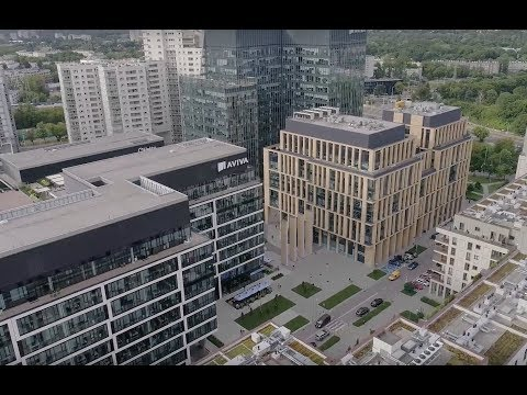 Gdanski Business Center In Warsaw